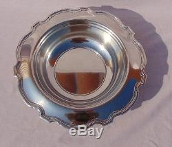 1907-1947 Marked Tiffany & Co. Sterling 10 3/4 Silver Bowl No Monograms