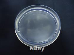 Art Deco Rene Lalique Houppes Box Powder bowl and cover CIRCA 1930´s FRANCE