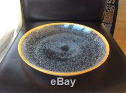 BARGAIN Daum signed Very Rare Art Nouveau bubble glass Bowl, c1910