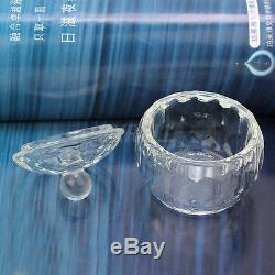 Durable Nail Art Acrylic Crystal Glass Lid Bowl Cup Liquid Powder Container New