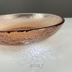 Fire & Light Originals Recycled Art Glass 9.75 Pasta Bowl in Copper