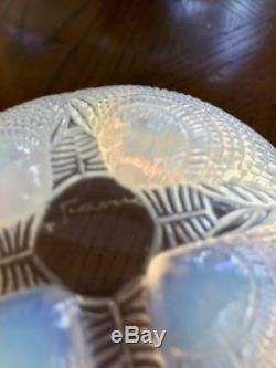 Lalique Coquilles 5.25 Art Glass Bowl late 1920s Signed