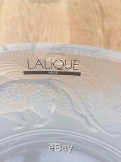 Lalique Crystal Jungle Bowl Ref 1111500 New In Box. Unwanted Gift