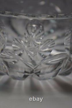 Large St Louis Heavy Crystal Cut Bowl French Art Glass Baccarat Style