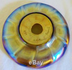 Louis Comfort Tiffany Art Glass Favrile Bowl or Underplate