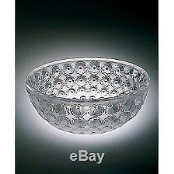 New Lalique Crystal Nemours Bowl #1101000 Bnib Clear $500 Off Nice Free Shipping