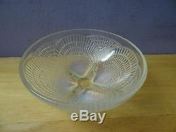 R. Lalique 5.2 Coquilles Opalescent Art Glass Shell Bowl, c1920 Signed & #'d