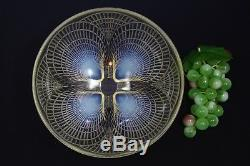 R. Lalique Large 9.4 in Diameter COQUILLES Opalescent Art Glass Bowl SUPERB