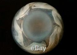 R. Lalique Opalescent Ondines Mermaid Bowl Beautiful Excellent Condition