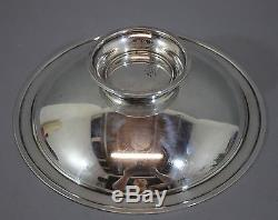 RARE Antique Tiffany & Co Sterling Silver & Enamel Footed Compote Bowl NR