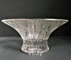 Signed HAWKES American Brilliant MILLICENT Pattern Cut Art Glass BOWL ABP PERIOD