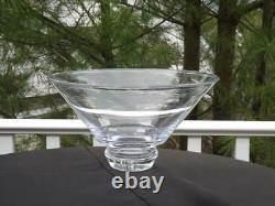 Simon Pearce Extra Large 13 1/2 Glass Art Bowl Signed Mint Condition