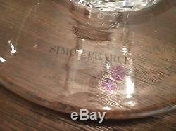 Simon Pearce signed hand blown footed bowl