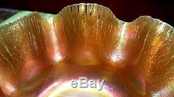 Tiffany Studios LCT Favrile Onion Skin Bowl in The Shape of a Starfish Very Rare