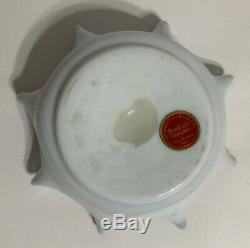 Victorian Art Glass Two-Color Spangle Bowl